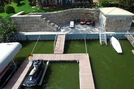 Docks and roof systems
