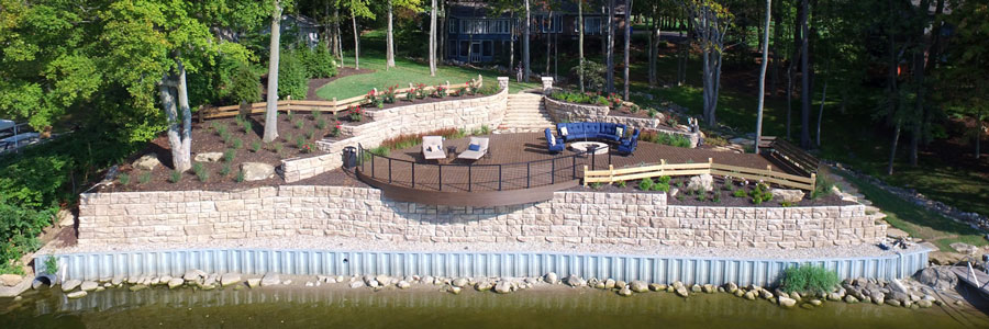 finished projects docks and landscaping photo gallery