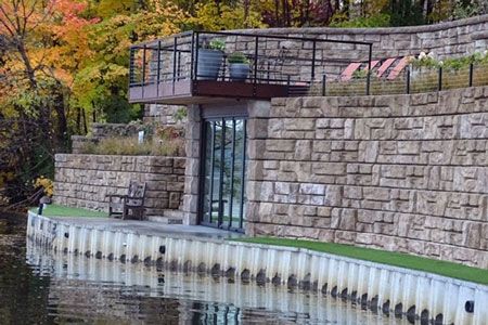 retaining walls photo gallery gallery